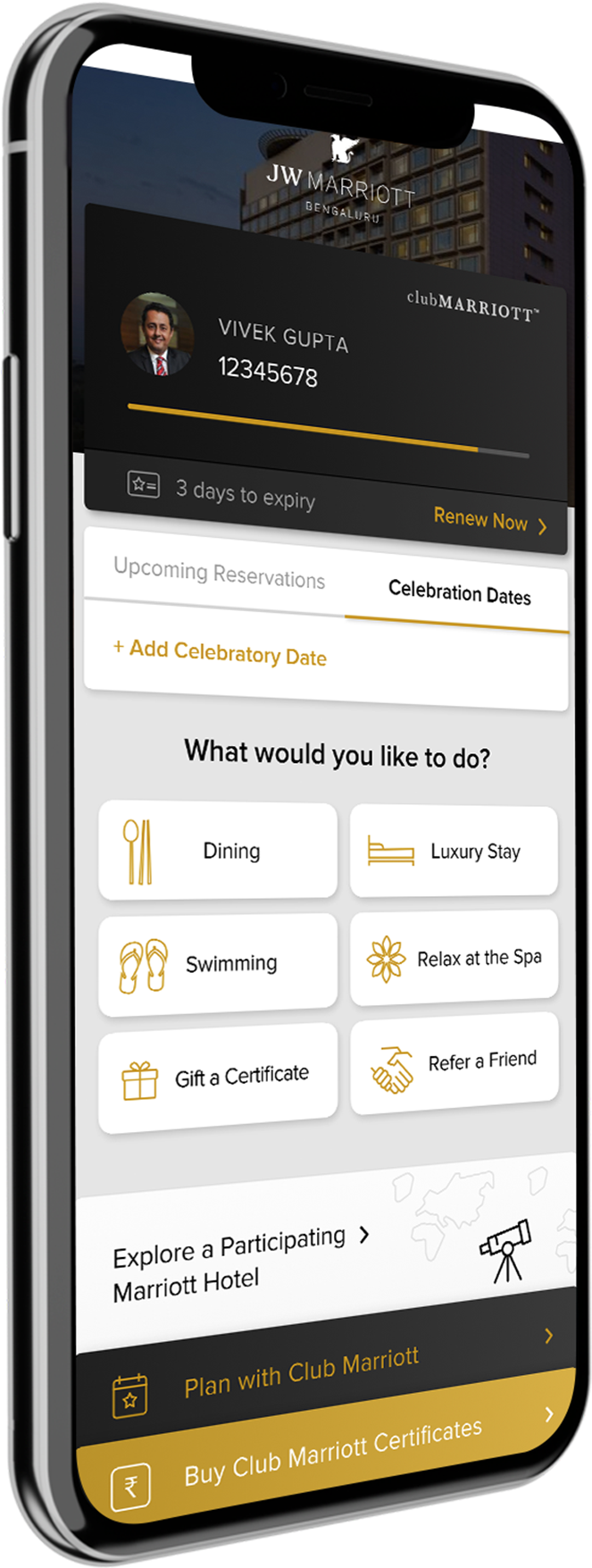Bringing Seamless Marriott Experience Closer to You with Club Marriott Mobile App