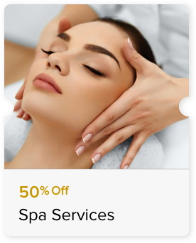 50% Off Select Massage Treatment