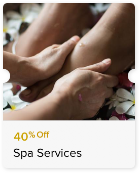 40% Off Select Massage Treatments