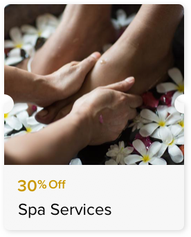 30% Off Spa Services