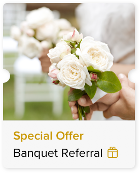15% Off Published Banquet Rate