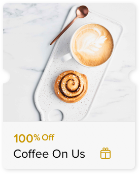 100% Off Coffee for Two