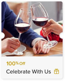 100% Off Glass of House Wine