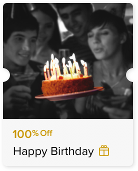100% Off Chocolate Cake
