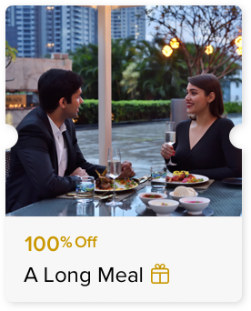 100% Off Buffet Dinner