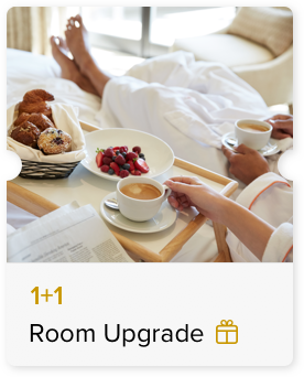 100% Off Room Upgrade