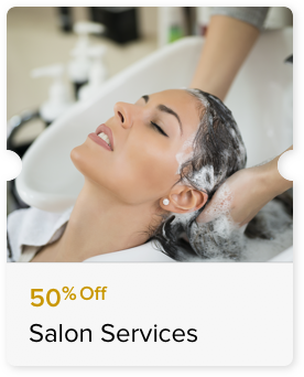 Up to 100% Off Select Salon Services