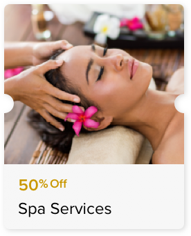 50% Off Select Spa Services