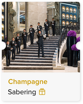 100% Off Champagne Sabering Ceremony