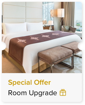 100% Off Upgrade to the Next Category of Rooms