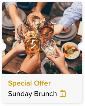 Alcoholic Brunch at a Special Price