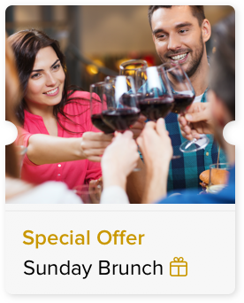 Sunday Brunch at a Special Price