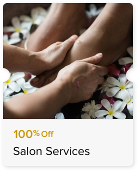 100% Off Chocolate Pedicure