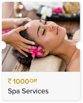 INR 1000 Off Select Spa Services