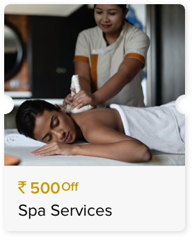 INR 500 Off Select Spa Services