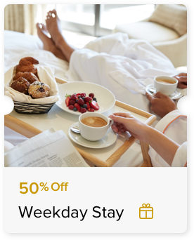 50% Off Best Available Rate