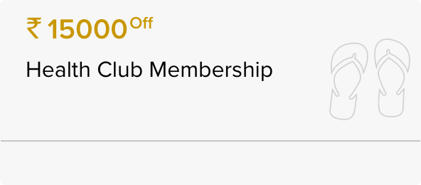 INR 15,000 Off The Athletic Club Membership
