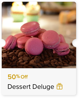 50% Off Bakery Items